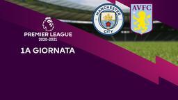 Manchester City - Aston Villa. 1a g.