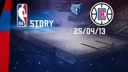 Memphis - LA Clippers 25/04/13. Gara 3