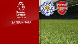 Leicester City - Arsenal. 12a g.