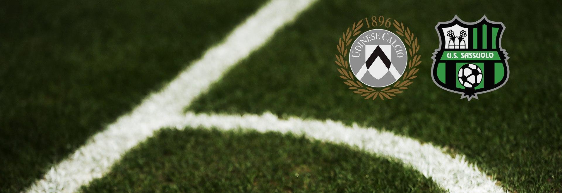 Udinese - Sassuolo. 19a g.