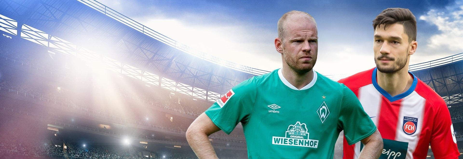 Werder Brema - Heidenheim. Playout Andata