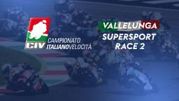 Supersport Vallelunga. Race 2