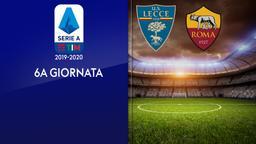 Lecce - Roma. 6a g.