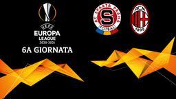 Sparta Praga - Milan. 6a g.