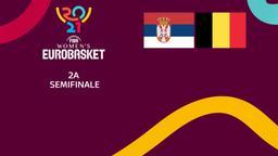 Serbia - Belgio. 2a semifinale