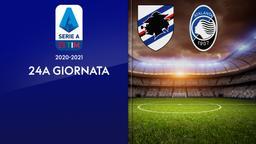Sampdoria - Atalanta. 24a g.