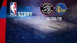 Toronto - Golden State Warriors 10/06/19. Final. Gara 5