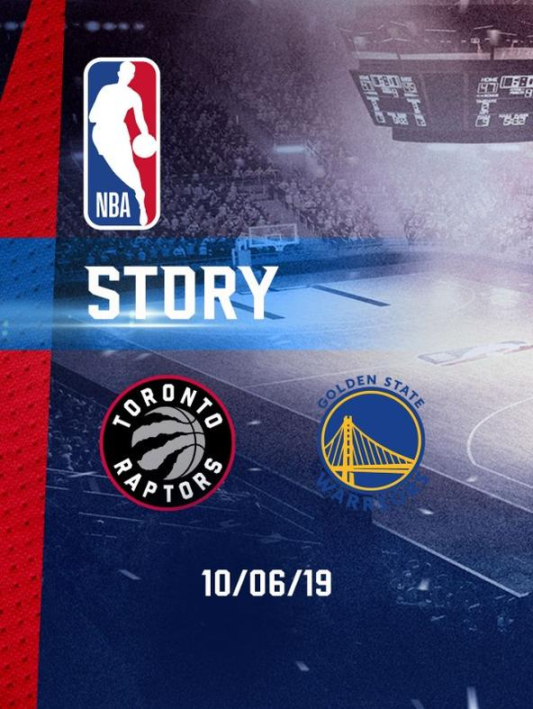 Toronto - Golden State Warriors 10/06/19. Final. Gara 5