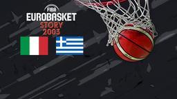 2003: Italia - Grecia. Quarti di finale