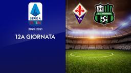 Fiorentina - Sassuolo. 12a g.