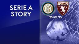Inter - Torino 25/01/15. Anticipo 20a giornata