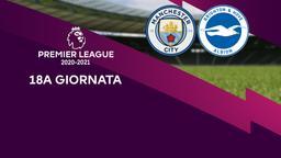 Manchester City - Brighton & Hove Albion. 18a g.