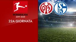 Mainz - Schalke. 22a g.
