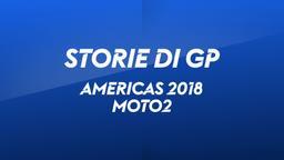 Americhe 2018. Moto2