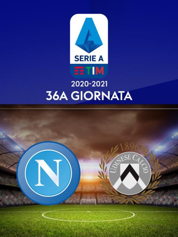 Napoli - Udinese. 36a g.