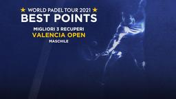 Migliori 3 recuperi Valencia Open Maschile