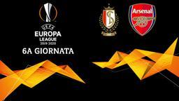 Standard Liegi - Arsenal. 6a g.