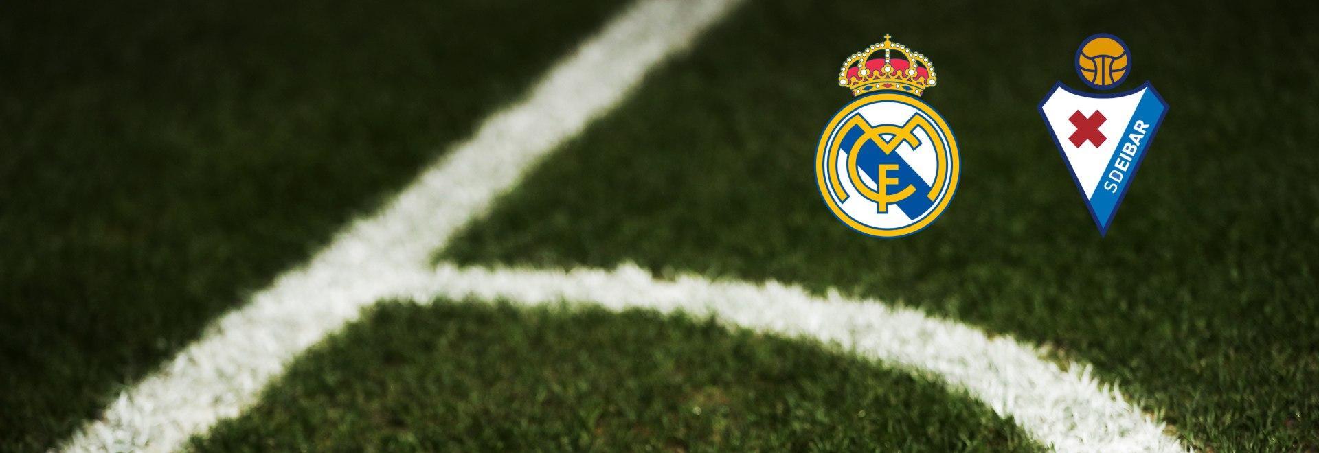 Real Madrid - Eibar. 29a g.