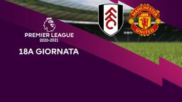 Fulham - Manchester United. 18a g.