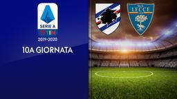 Sampdoria - Lecce. 10a g.