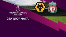 Wolverhampton - Liverpool. 24a g.