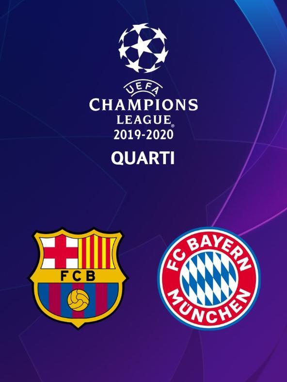 Barcellona - Bayern M. Quarti   (diretta)