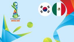 Corea - Messico. 2° Quarto