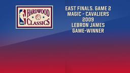 Magic - Cavaliers 2009 LeBron James Game-Winner. East Finals. Game 2
