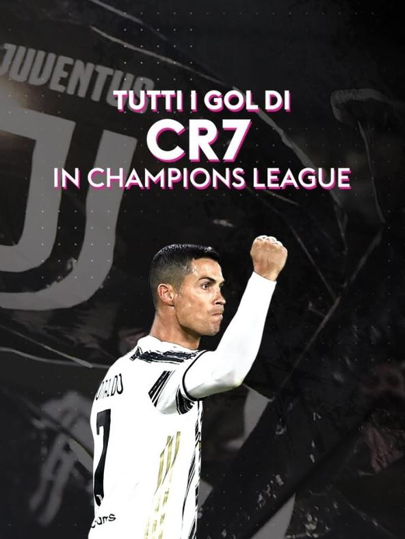 Champions League: CR7 tutti i gol