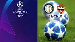 Inter - CSKA Mosca 31/03/10