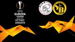 Ajax - Young Boys. Ottavi Andata