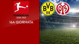 Borussia Dortmund - Mainz. 16a g.
