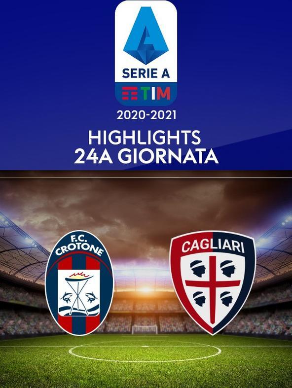 Crotone - Cagliari. 24a g.