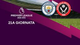 Manchester City - Sheffield United. 21a g.