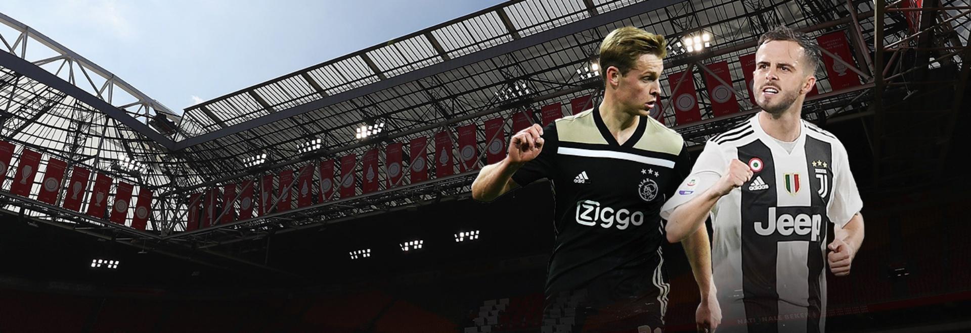Ajax - Juventus. Quarti. Andata