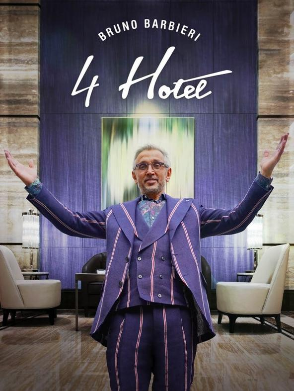 Bruno Barbieri - 4 Hotel - 1^TV