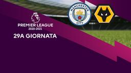 Manchester City - Wolverhampton. 29a g.