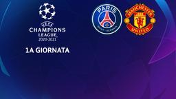Paris - Manchester United. 1a g.