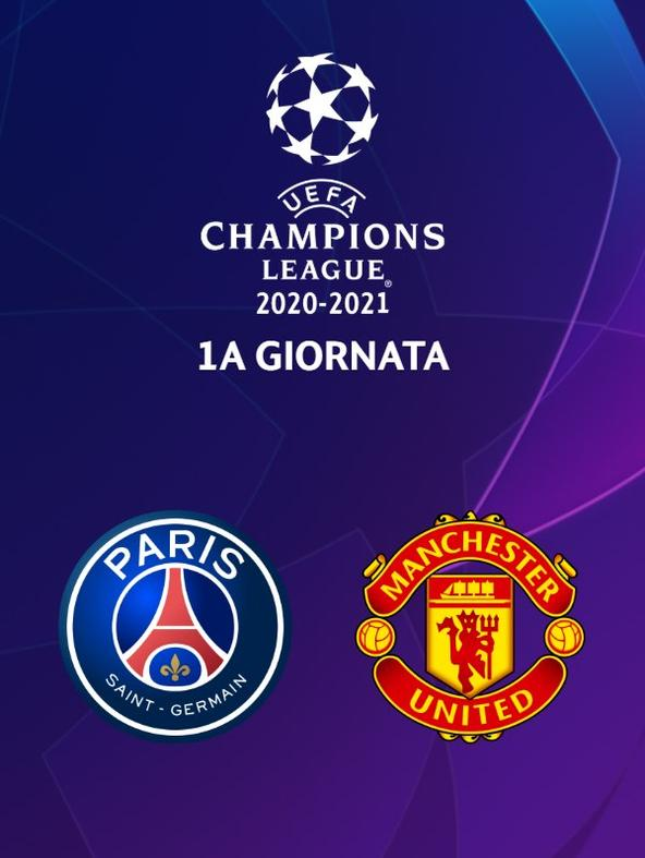 Paris - Manchester United. 1a g.
