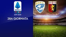 Brescia - Genoa. 28a g.