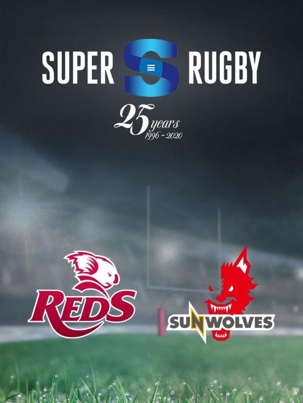 Rugby: Reds - Sunwolves
