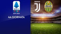 Juventus - Verona. 4a g.