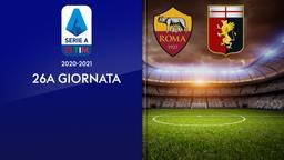 Roma - Genoa. 26a g.