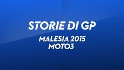 Malesia, Sepang 2015. Moto3