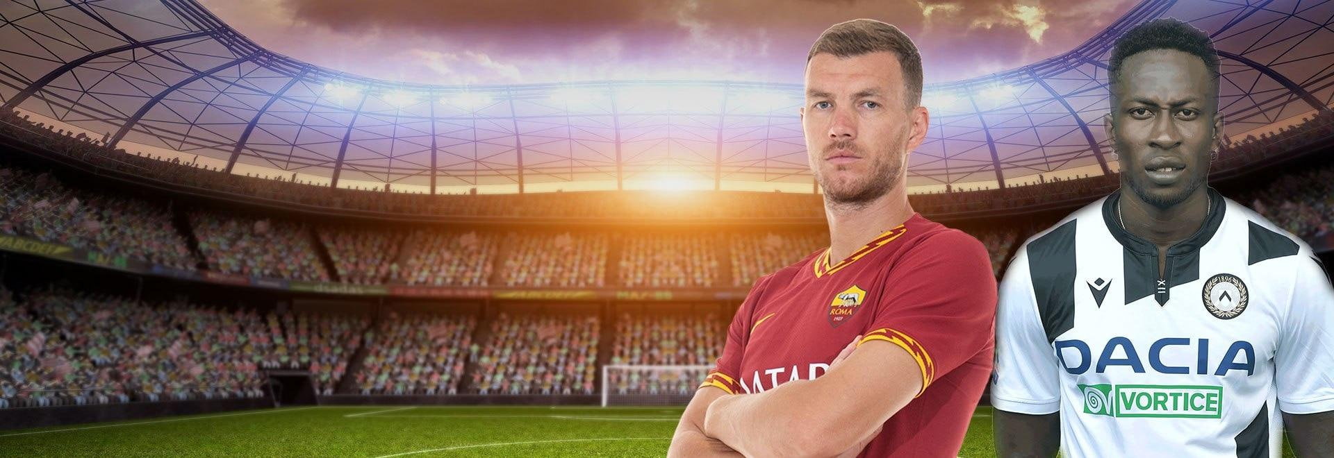 Roma - Udinese. 29a g.
