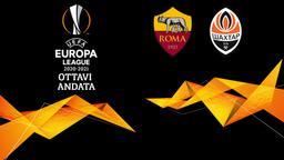 Roma - Shakhtar Donetsk. Ottavi Andata