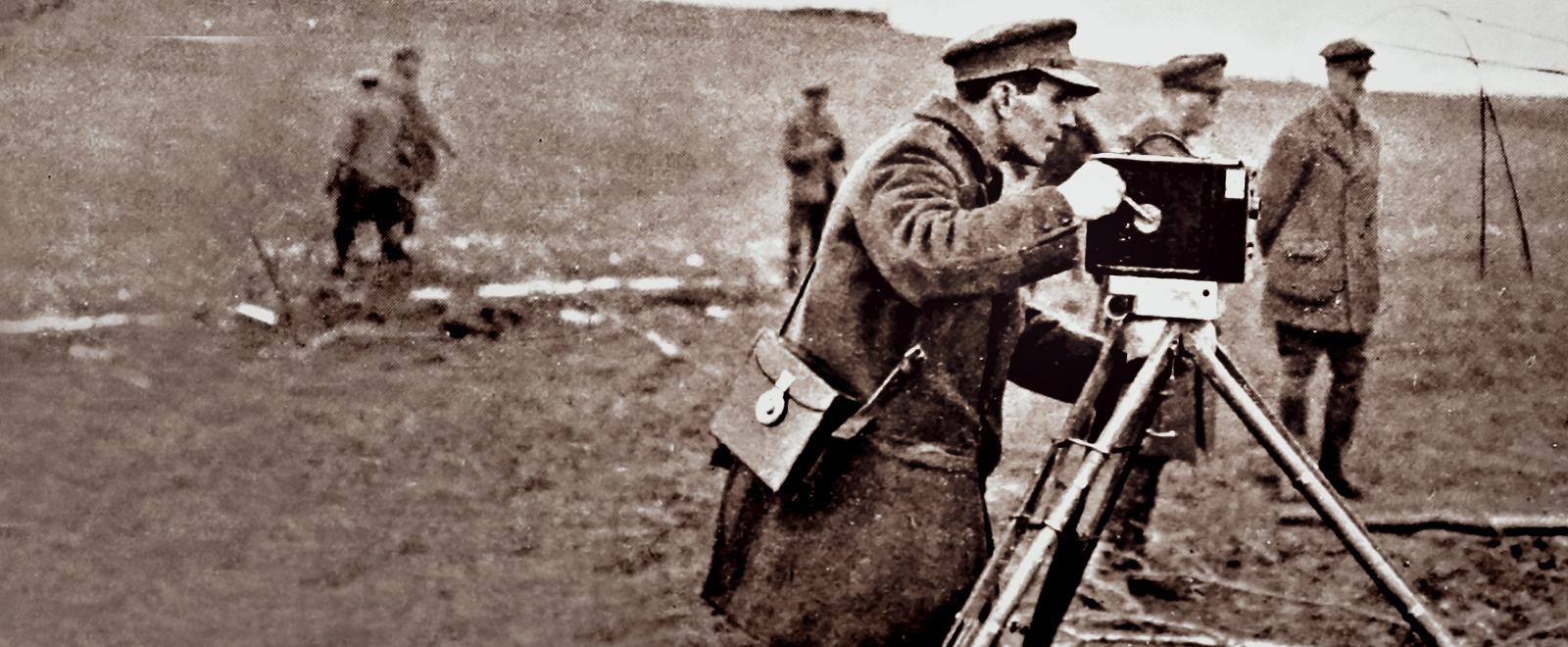 Il primo cameraman in trincea