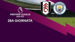 Fulham - Manchester City. 28a g.