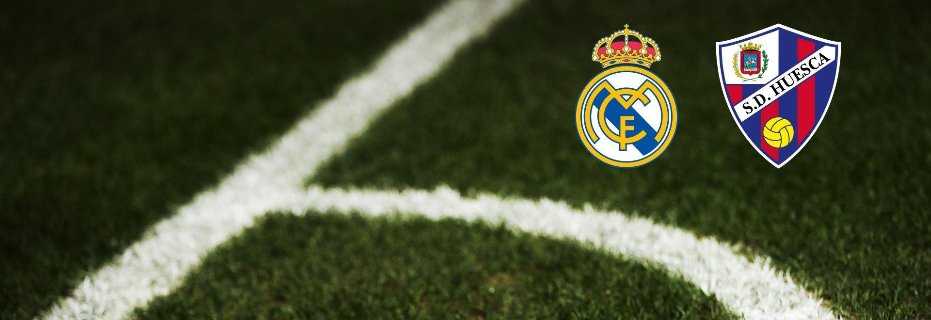 Real Madrid - Huesca. 8a g.