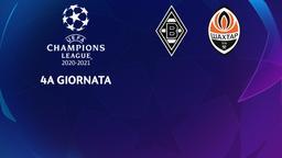 Borussia Moenchengladbach - Shakhtar Donetsk. 4a g.
